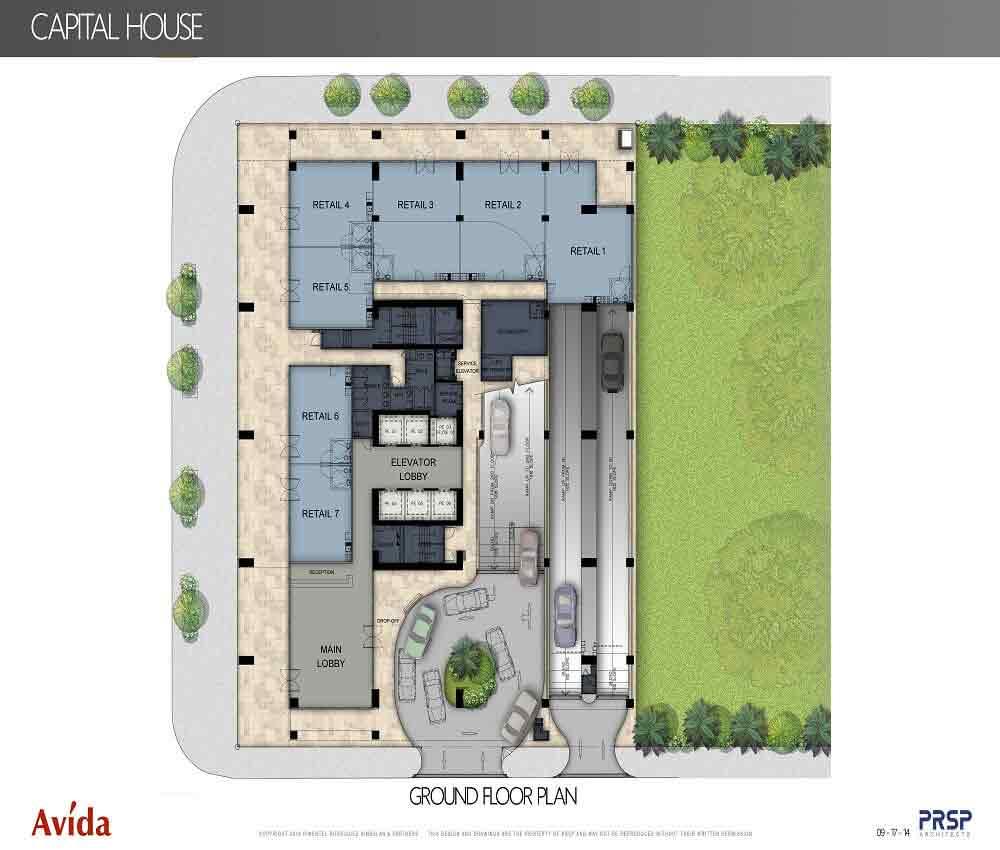 Capital House  - Ground Floor Plan
