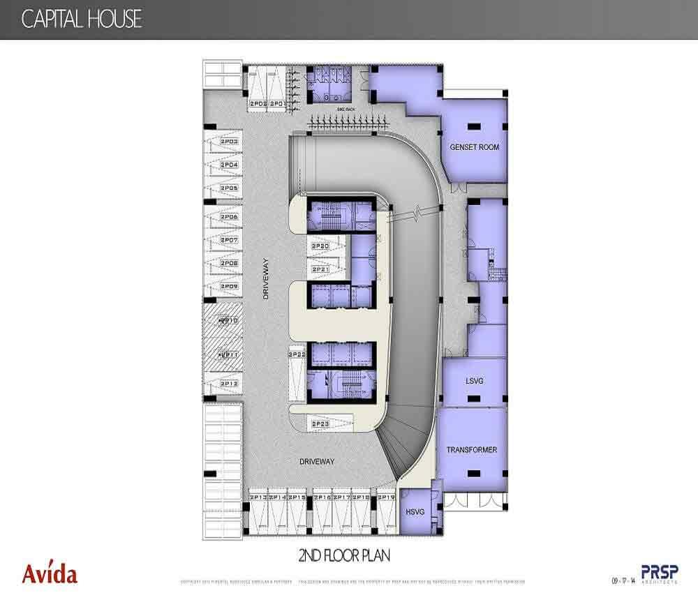 Capital House  - 2nd Floor Plan