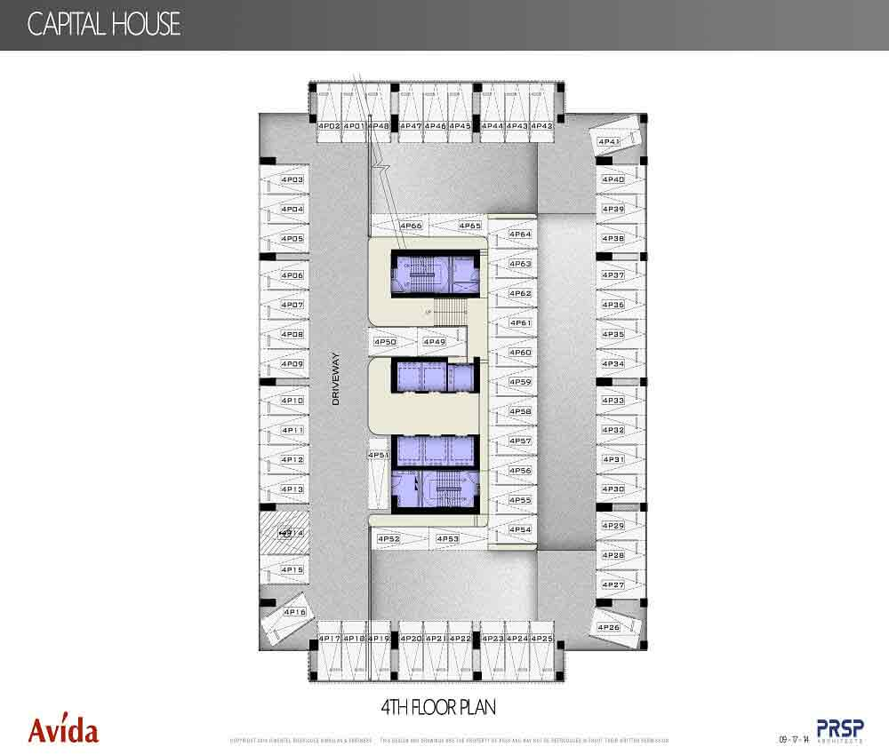 Capital House  - 4th Floor Plan