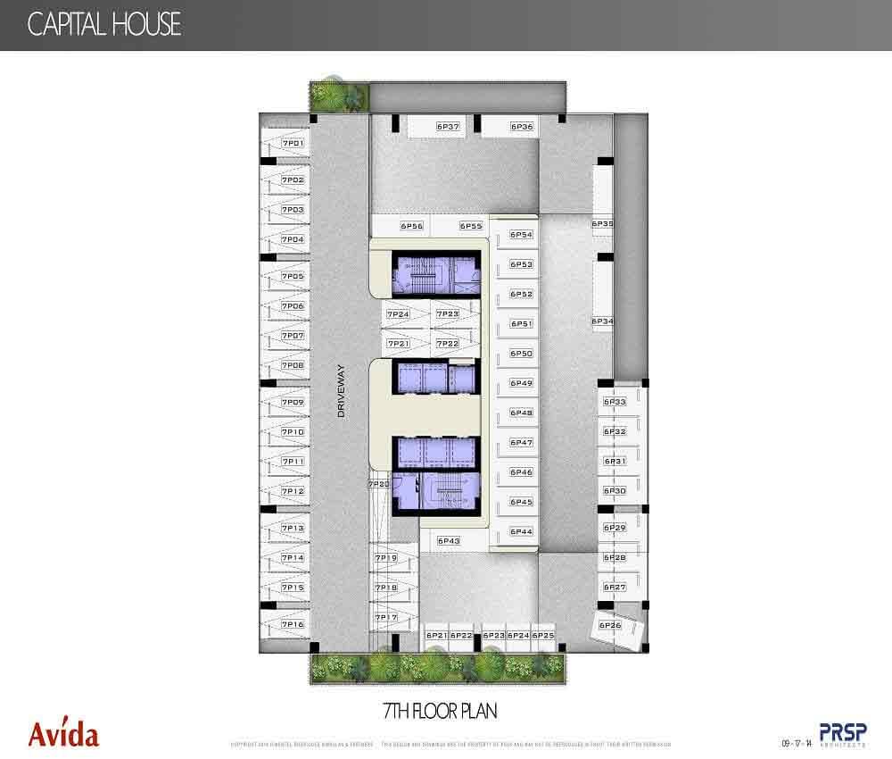 Capital House  - 7th Floor Plan