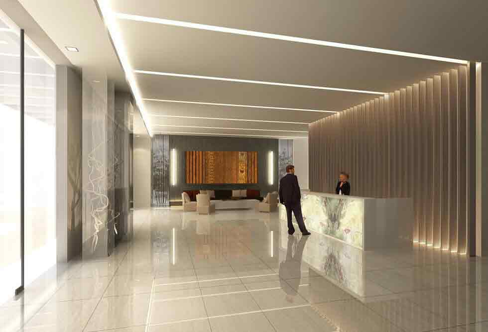 Abreeza Residences - Reception Lobby
