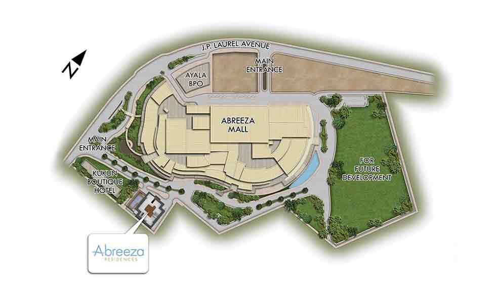 Abreeza Residences - Site Development Plan