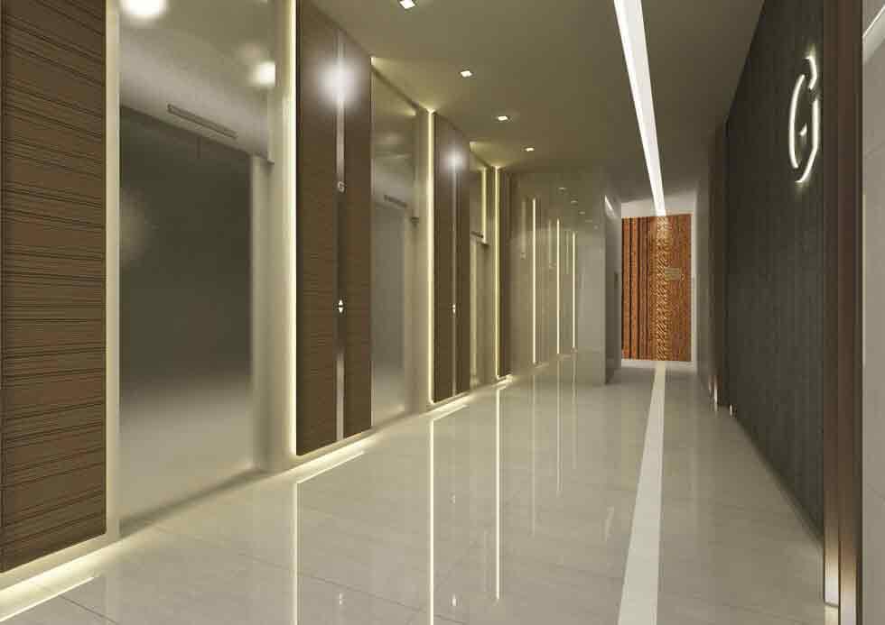 Abreeza Residences - Lift Lobby