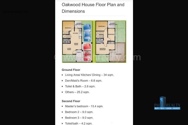 Carmona Estates  - Floor Plan