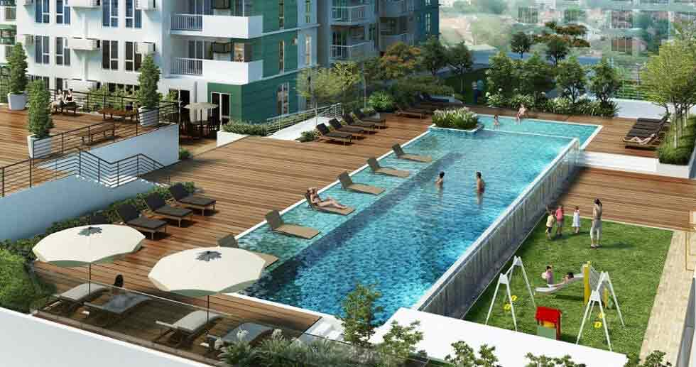 Patio Suites Abreeza - Pool Area