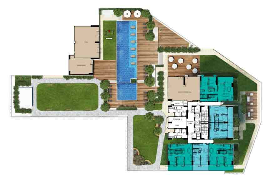 Patio Suites Abreeza - Site Development Plan