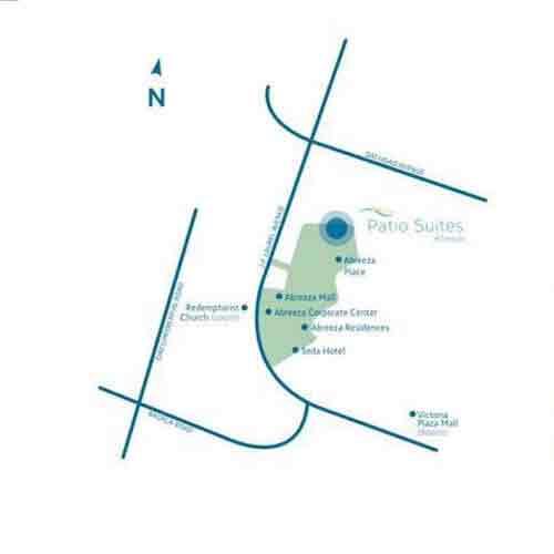 Patio Suites Abreeza - Location & Vicinity