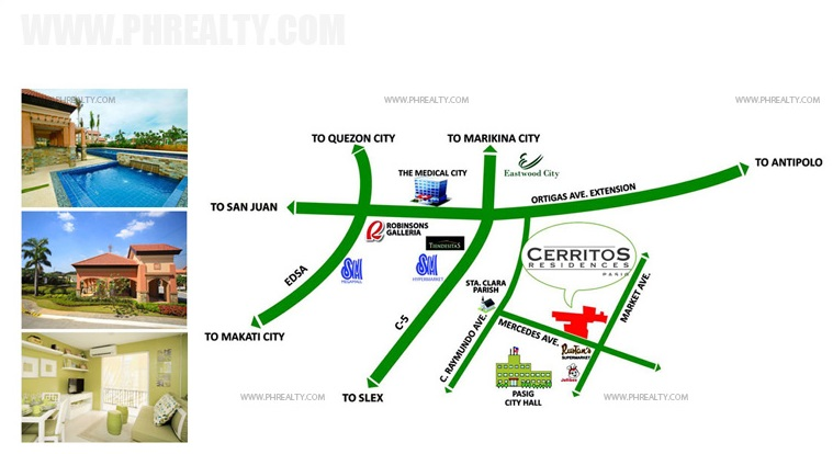 Cerritos Residences - Location & Vicinity