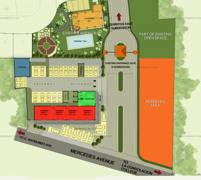 Cerritos Residences - Site Development Plan
