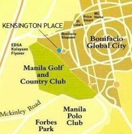 Kensington Place - LocationMap