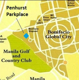 Penhurst Park Place - Location Map