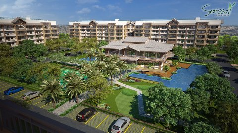 Serissa Residences - Central Amenity View