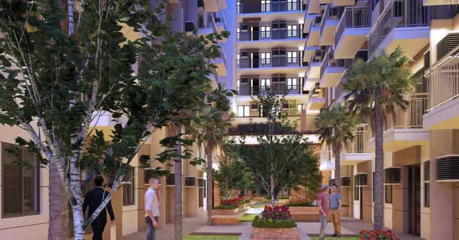 Mercedes Residences - Central Garden