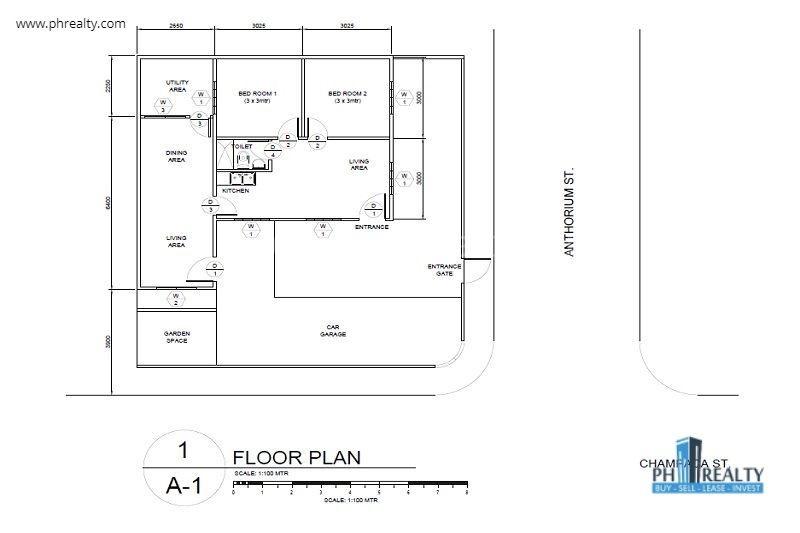 Heritage Homes Marilao  - Floor Plan