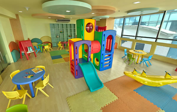 BSA Twin Towers -  Childrens Play Room