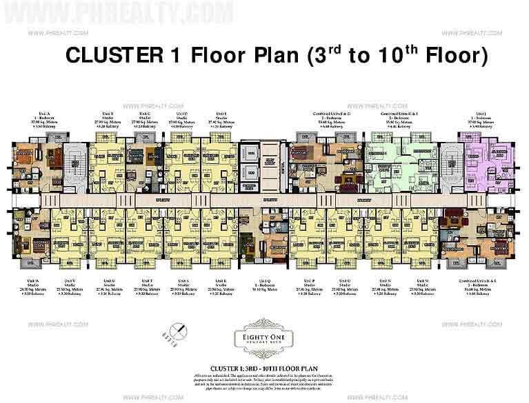 81 Newport Boulevard - Cluster 1 Floor Plan