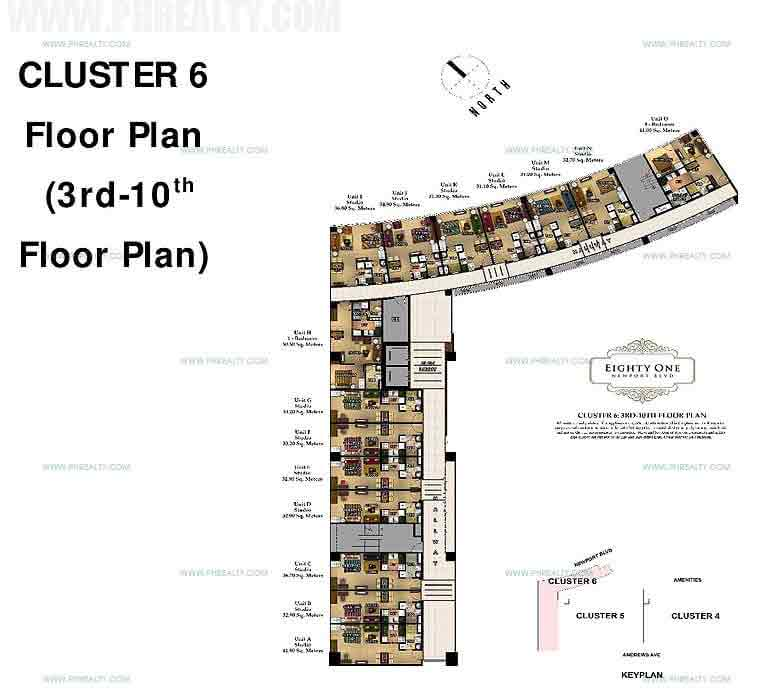 81 Newport Boulevard - Cluster 6 Floor Plan