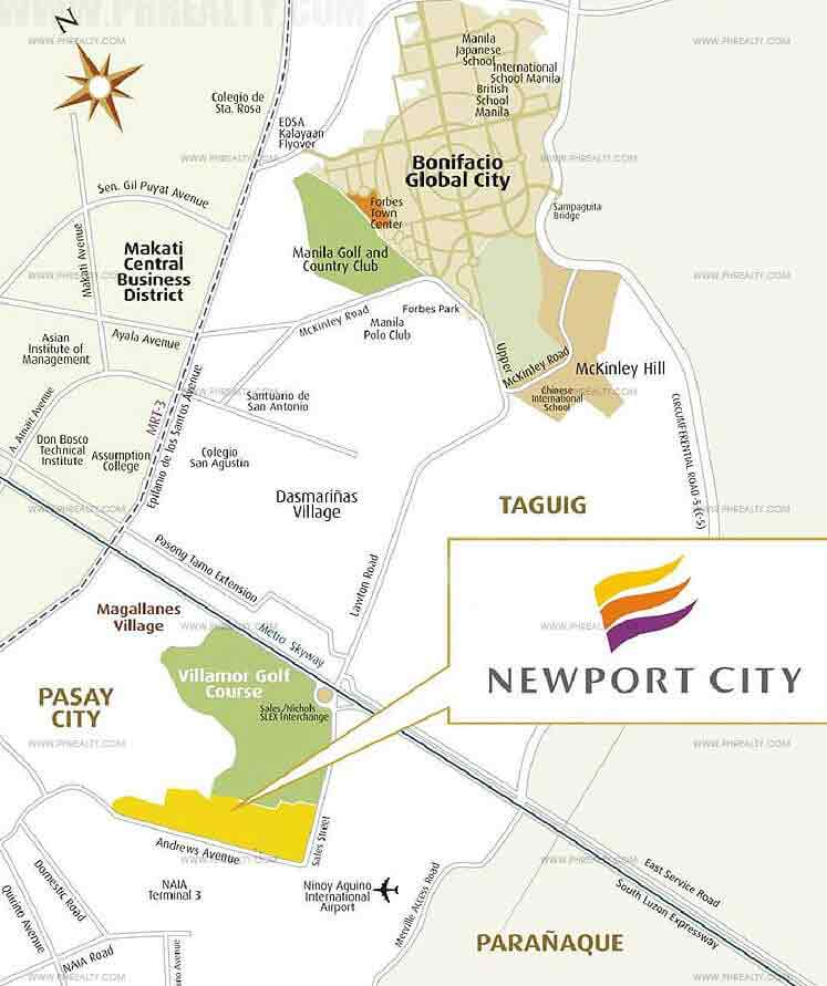 81 Newport Boulevard - Location Map
