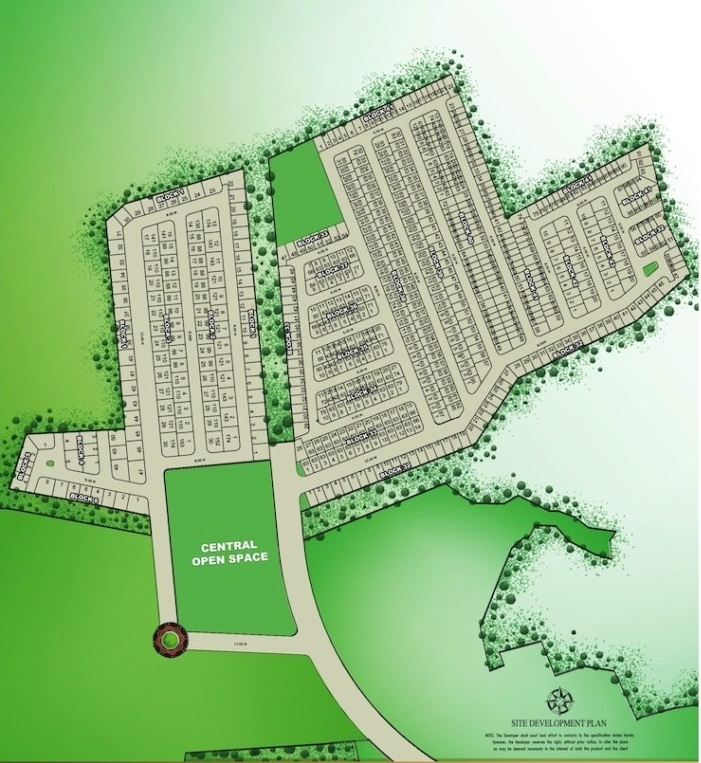 Camella Sta. Maria - Site development Plan
