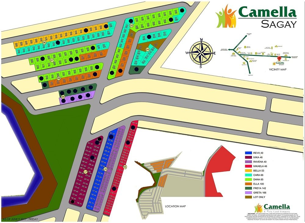 Camella Sagay - Site Development Plan