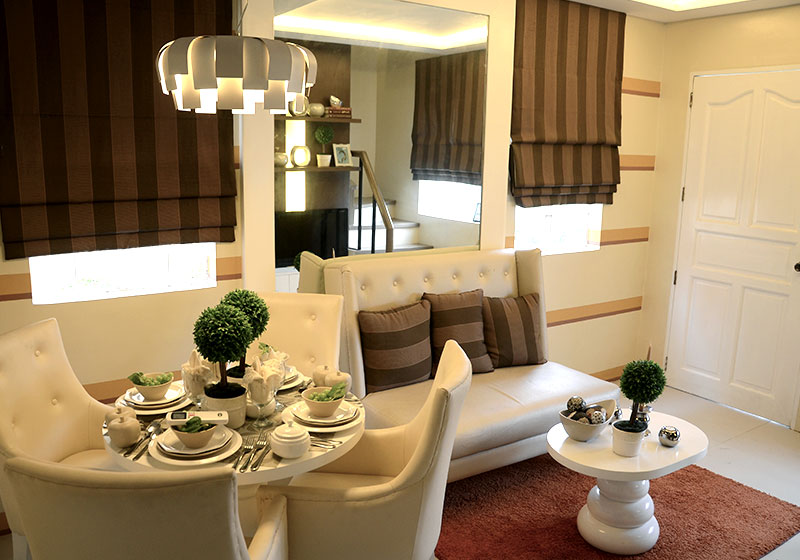 Camella Sagay - Living & Dining Area