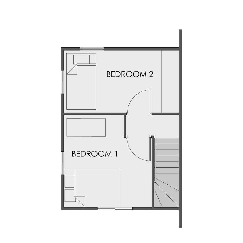 Camella Sagay - Second Floor Plan