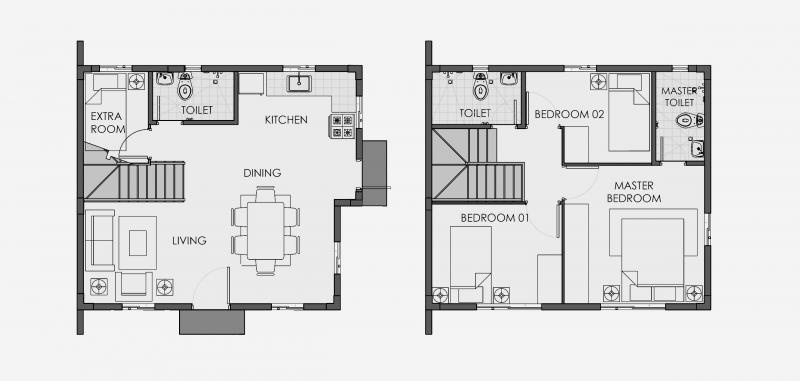 Camella Sagay - Floor Plans