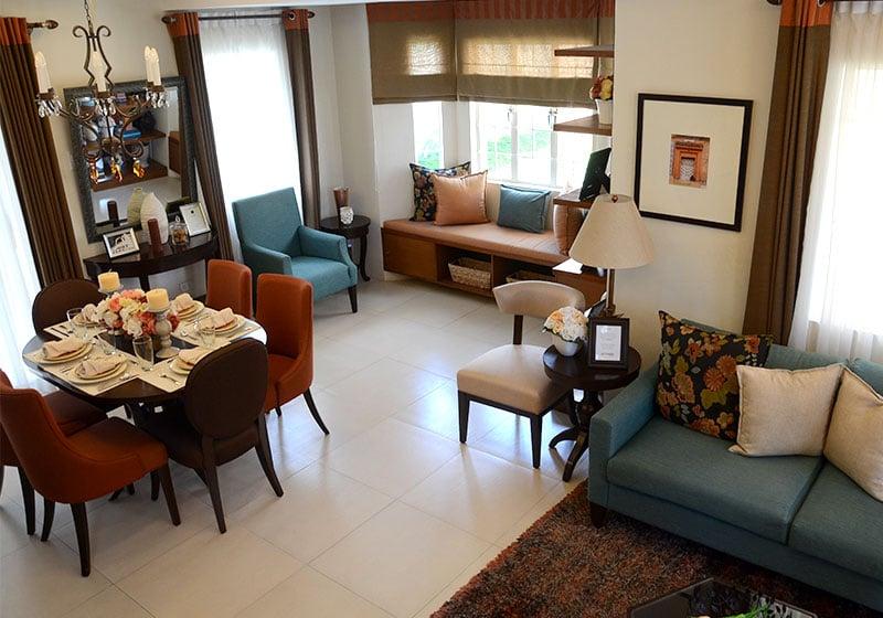 Camella Sagay - Living & Dining Area
