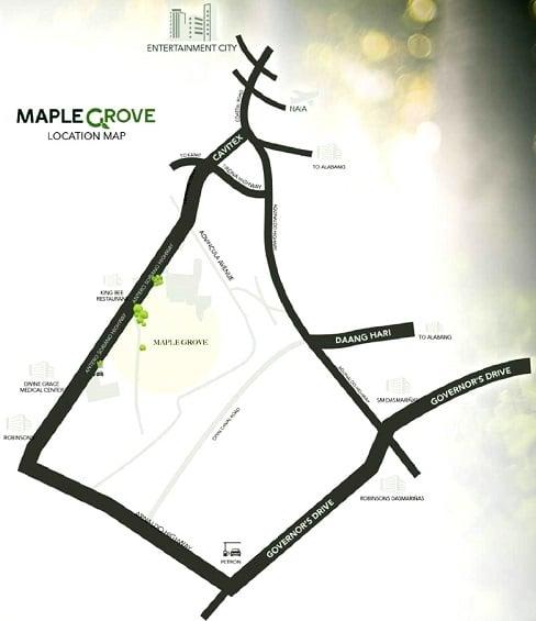 Maple Grove - Location & Vicinity
