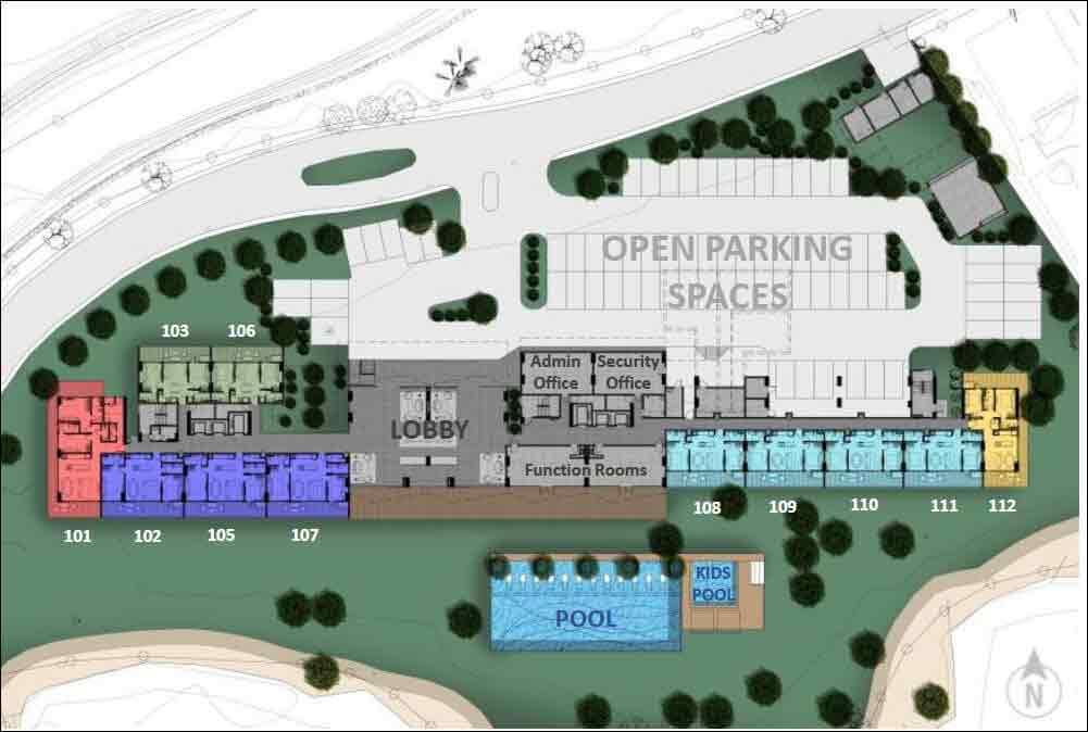 Air Residences - Site Development Plan
