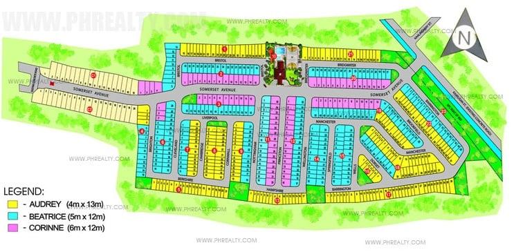 Somerset Place - Site Development Plan