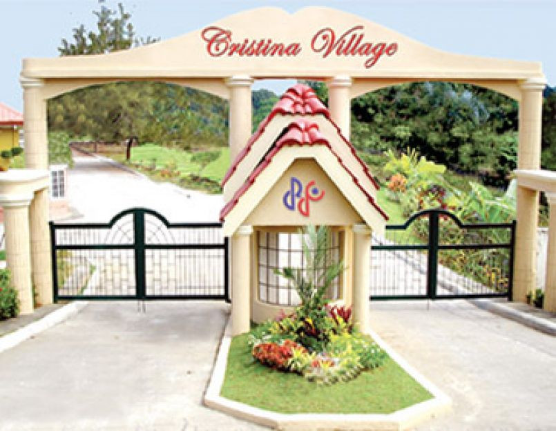 Cristina Village - Main Entrance Gate