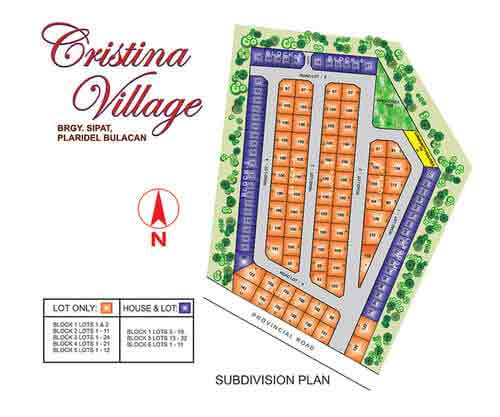 Cristina Village - Site Development Plan
