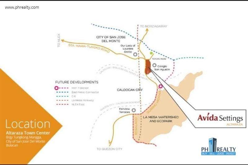 Avida Settings Altaraza - Location