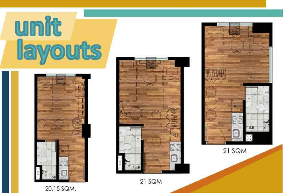 Bradbury Heights - Unit Layouts