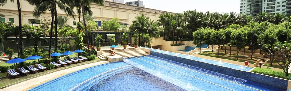 Amorsolo Square Makati - Swimming Pool Deck