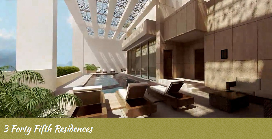3 Forty Fifth Residences - Swimming Pool & Deck