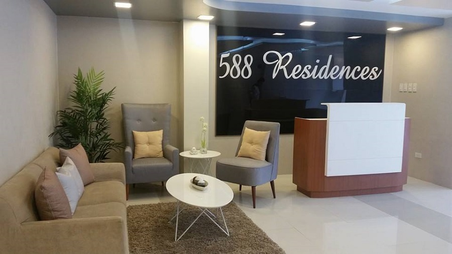 588 Residences - Reception Area