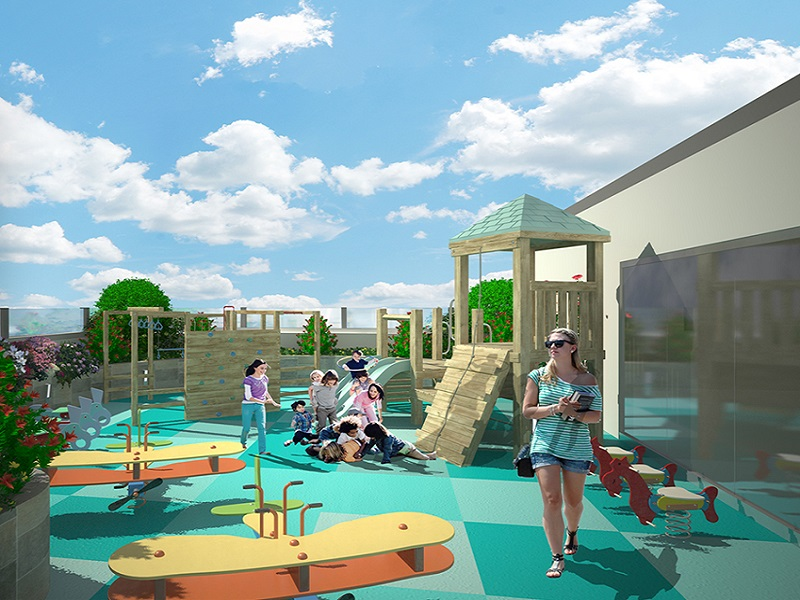 588 Residences - Children's Playground
