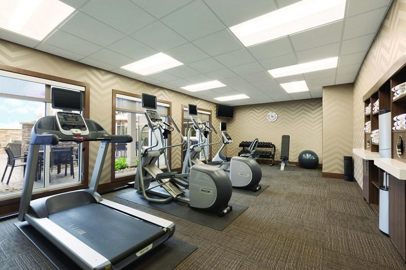588 Residences - Fitness Gym
