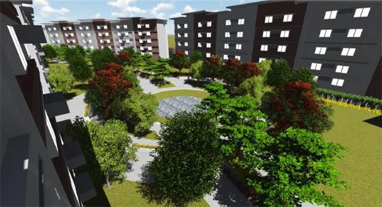 Park Residences - Lawn Area