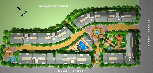The Parkside Villas - Site Development Plan