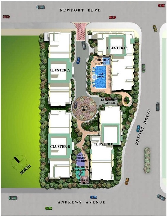 The Palmtree Villas - Site Development Plan
