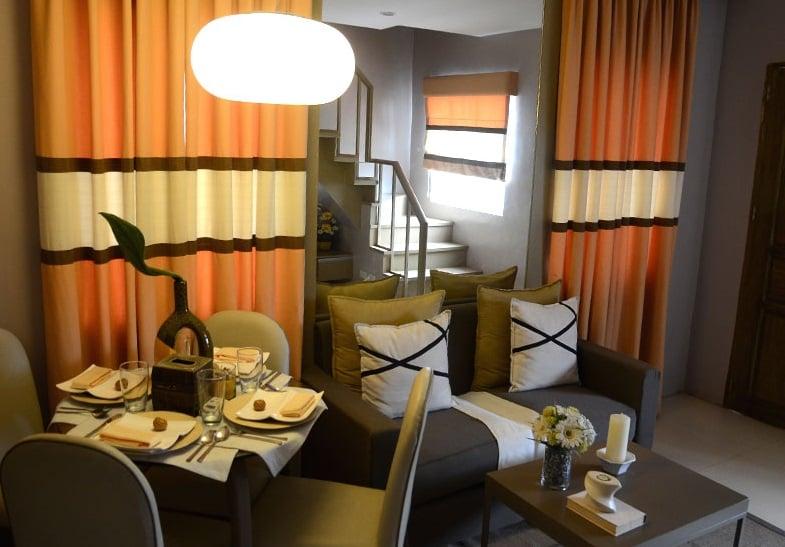 Camella Sta. Cruz - Living Room