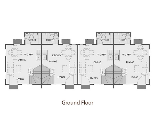 Camella Sta. Cruz - Ground Floor Plan