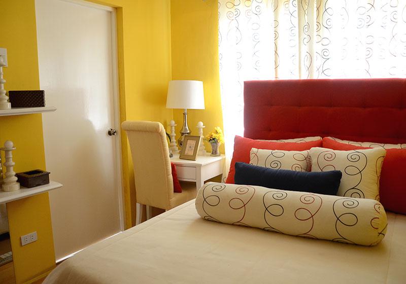Camella Sta. Cruz - Bedroom