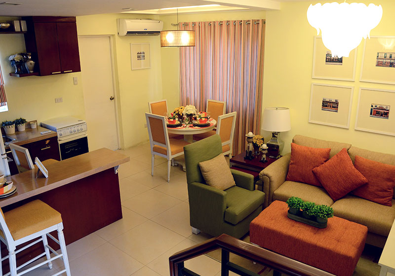Camella Sta. Cruz - Living & Dining Area