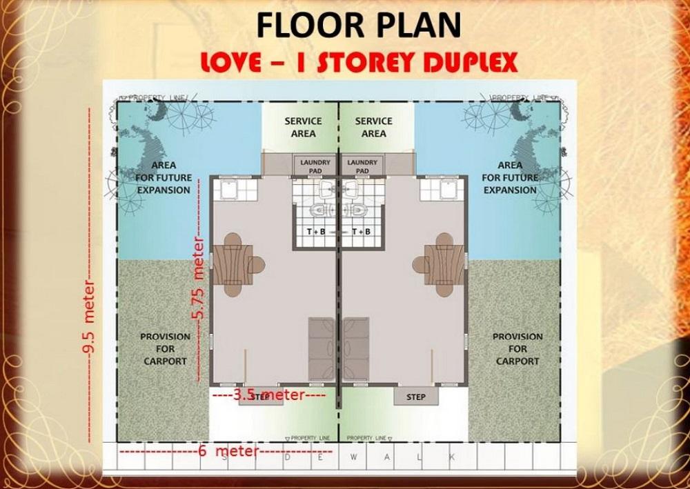Regina Rosa Residences - Floor Plan