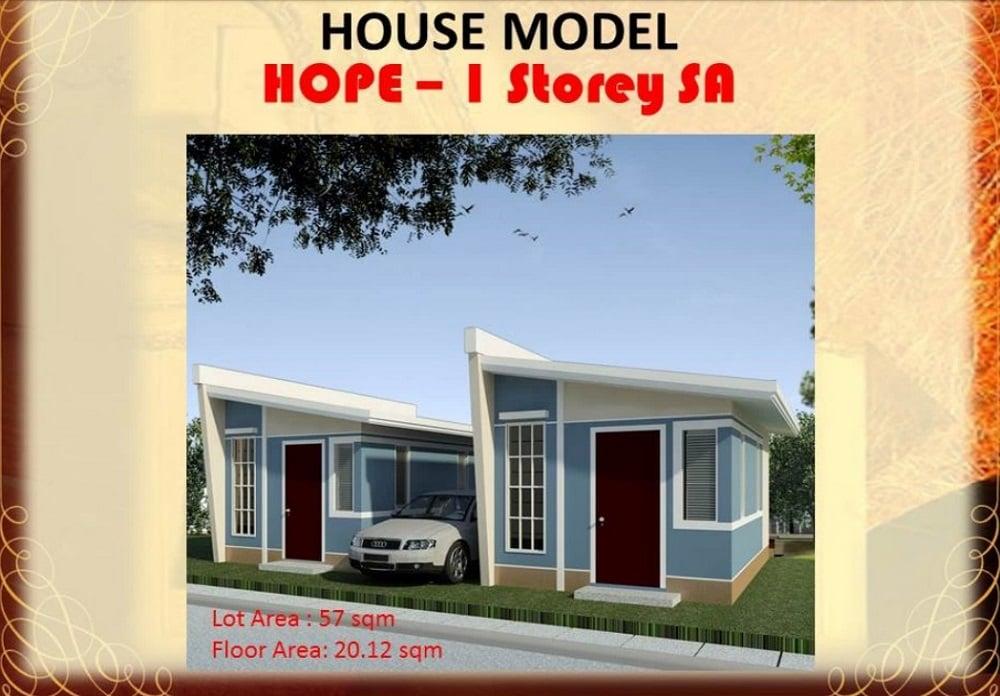 Regina Rosa Residences - House Model