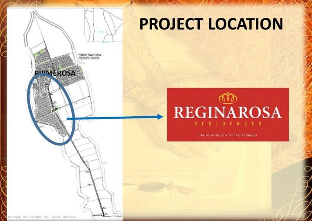 Regina Rosa Residences - Project Location